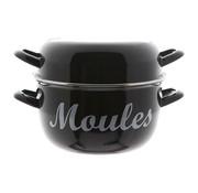 Cosy & Trendy Cosy & Trendy Moules mosselpot 4kg zwart nieuw d24cm, 1 stuk
