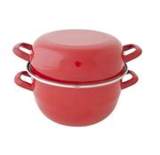 Cosy & Trendy Cosy & Trendy Horeca mosselpot 4kg rood nieuw d24cm, 1 stuk