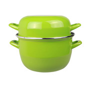 Cosy & Trendy Cosy & Trendy Horeca mosselpot 2kg groen nieuw 3,250l, 1 stuk