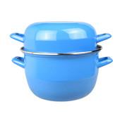 Cosy & Trendy Cosy & Trendy Horeca mosselpot 2kg blauw nieuw 3,250 l, 1 stuk