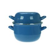 Cosy & Trendy Cosy & Trendy Horeca mosselpot1,2kg blauw 2,8l 18cm, 1 stuk