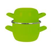 Cosy & Trendy Cosy & Trendy Horeca mosselpot d12cm groen-0,5kg-0,9l, 1 stuk