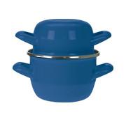Cosy & Trendy Cosy & Trendy Mosselpot blauw d12cm, 1 stuk