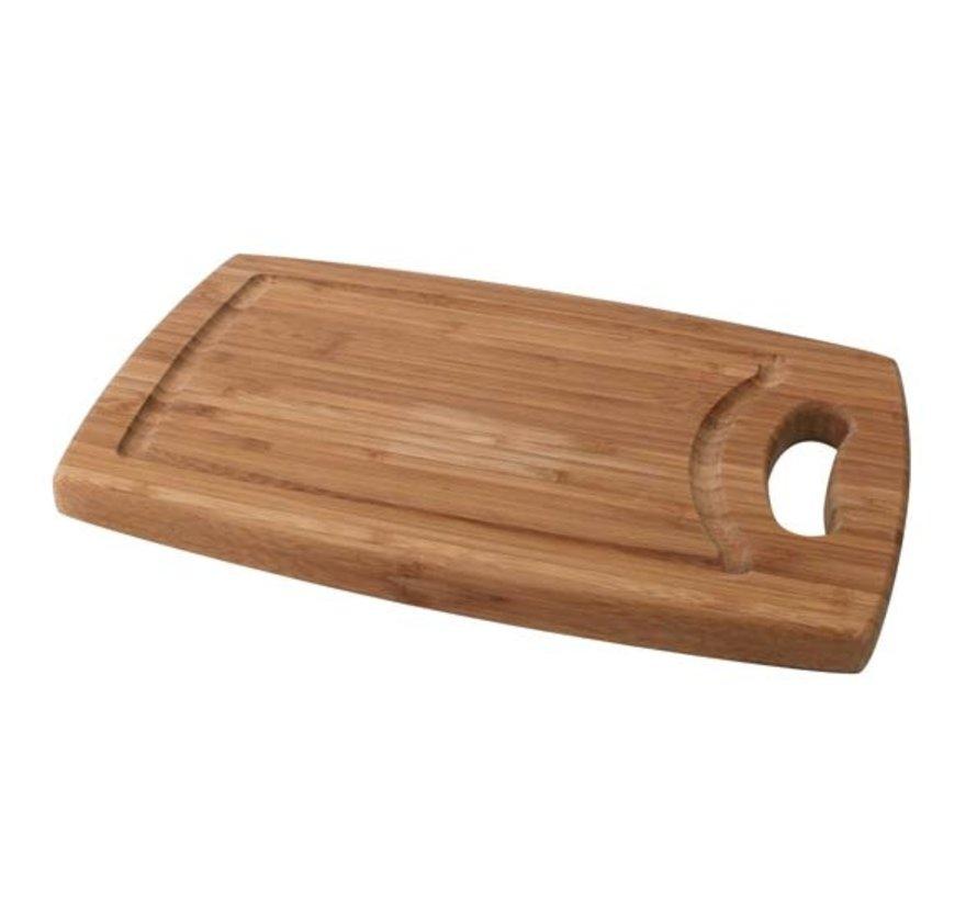 Cosy & Trendy Sudan snijplank 29x19xh1,8cm bamboe, 1 stuk