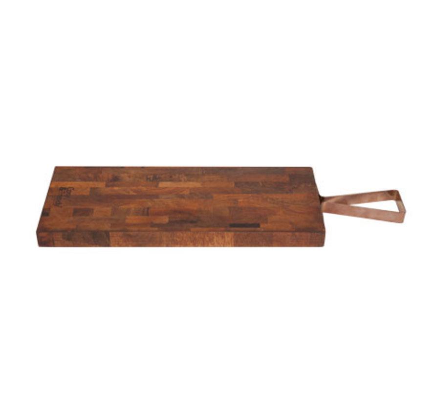 Cosy & Trendy Snijplank mangohout rechthoek, 1 stuk