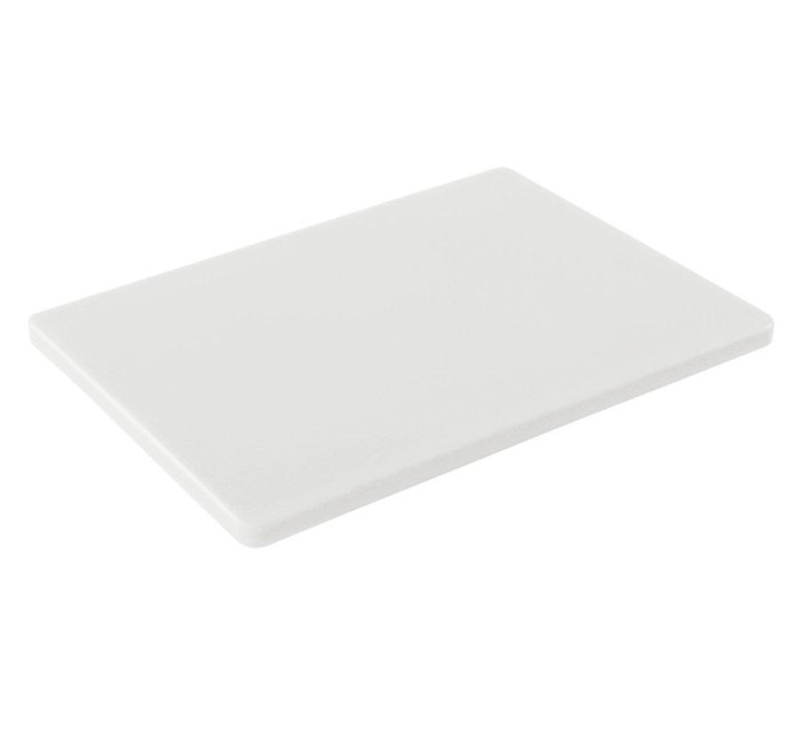 Cosy & Trendy Ct prof snijplank 40x30x1,5cm wit, 1 stuk
