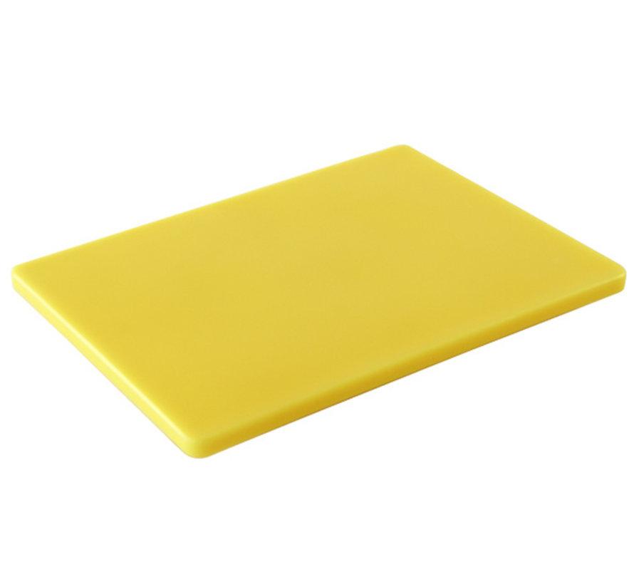 Cosy & Trendy Ct prof snijplank 40x30x1,5cm geel, 1 stuk