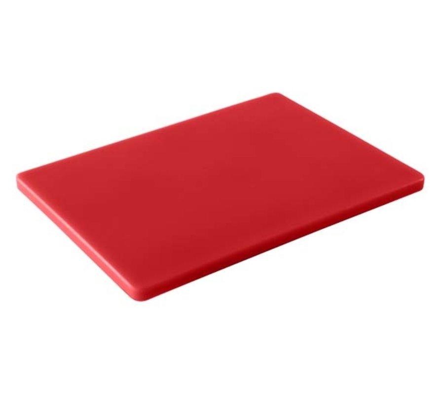 Cosy & Trendy Ct prof snijplank gn1/1 rood 53x32xh1,5, 1 stuk