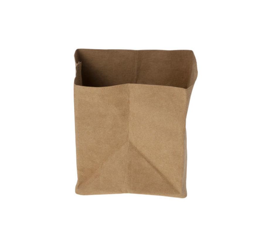 Cosy & Trendy Ecosy broodjeszak bruin 14x14xh15cm, 1 stuk