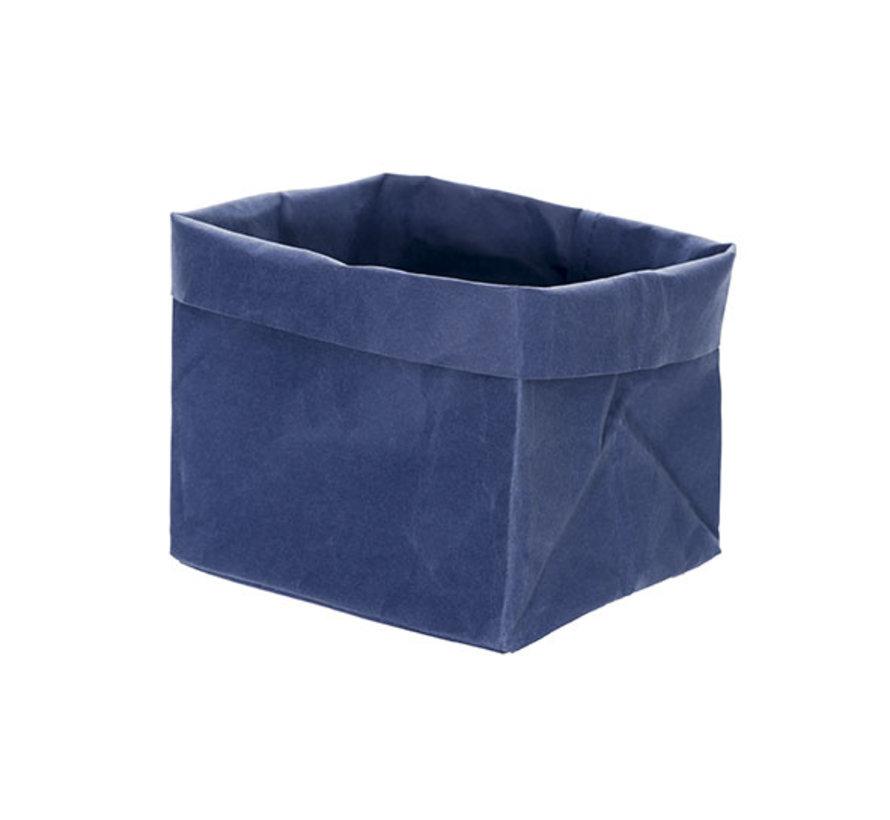 Cosy & Trendy Ecosy broodjeszak blauw 14x14xh15cm, 1 stuk