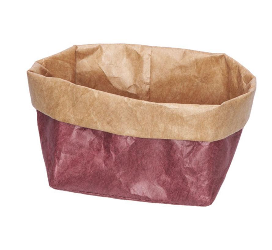 Cosy & Trendy E-cosy broodjeszak wasbaar bordeaux, 1 stuk