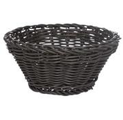 Cosy & Trendy Cosy & Trendy Ct prof mandje zwart d15xh7cm plast, 1 stuk