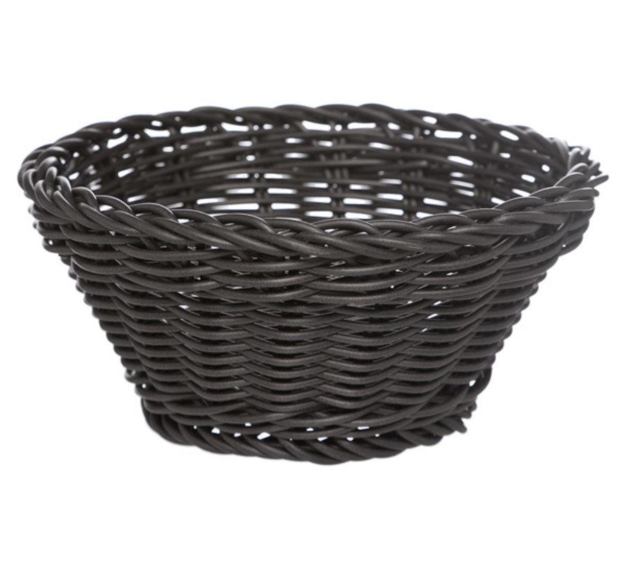 Cosy & Trendy Ct prof mandje zwart d15xh7cm plast, 1 stuk