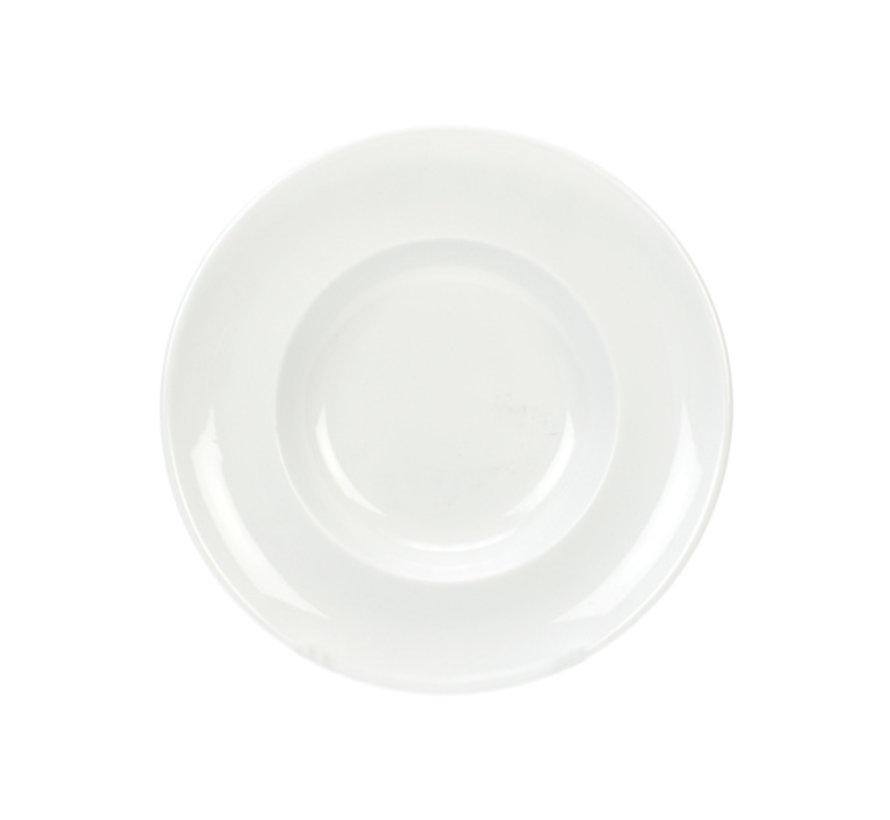 Cosy & Trendy Mini pastabordje wit d18-11xh3cm, 6 maal 1 stuk