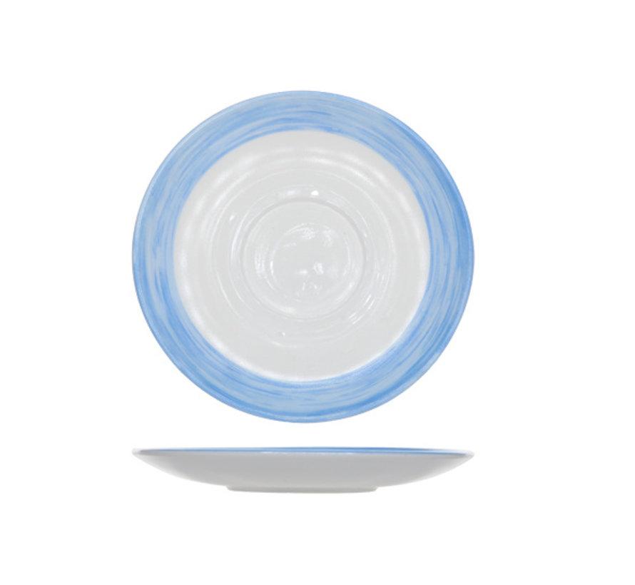 Arcoroc Brush ondertas blauw 14cm, 6 stuks