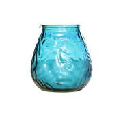 Cosy & Trendy Cosy & Trendy lowboy turquoise d10xh10,5cm, 6 maal 1 stuk
