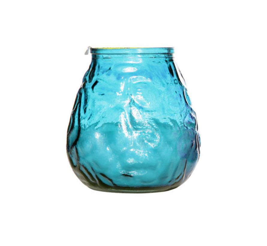 Cosy & Trendy lowboy turquoise d10xh10,5cm, 6 maal 1 stuk