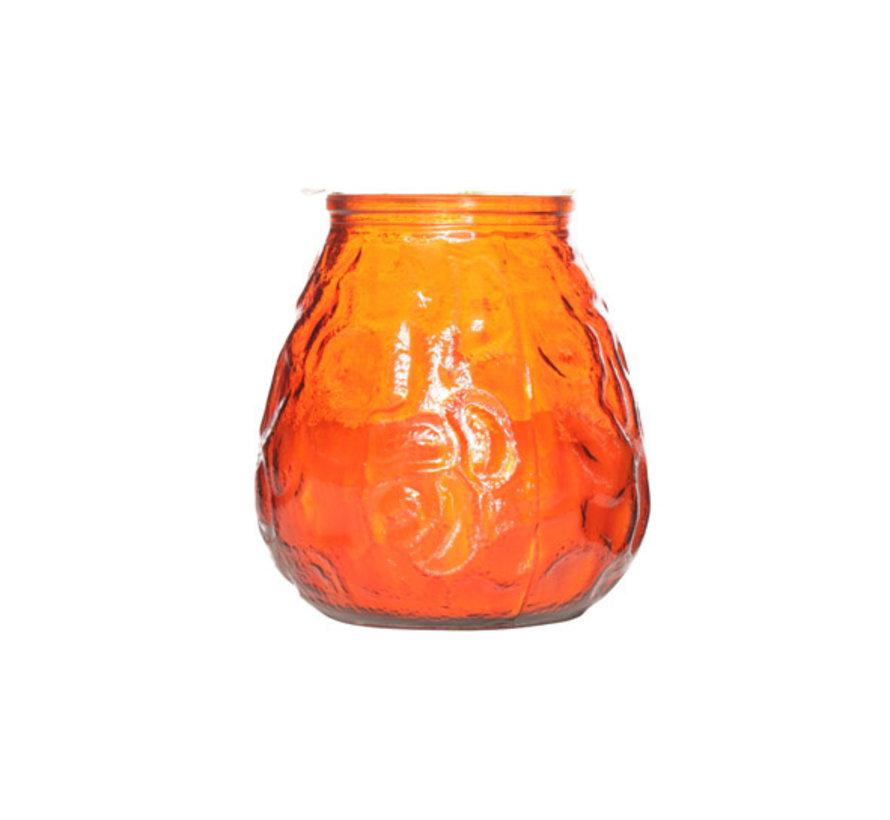 Cosy & Trendy lowboy oranje d10xh10,5cm, 6 maal 1 stuk