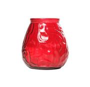 Cosy & Trendy Cosy & Trendy lowboy rood d10xh10,5cm, 6 maal 1 stuk