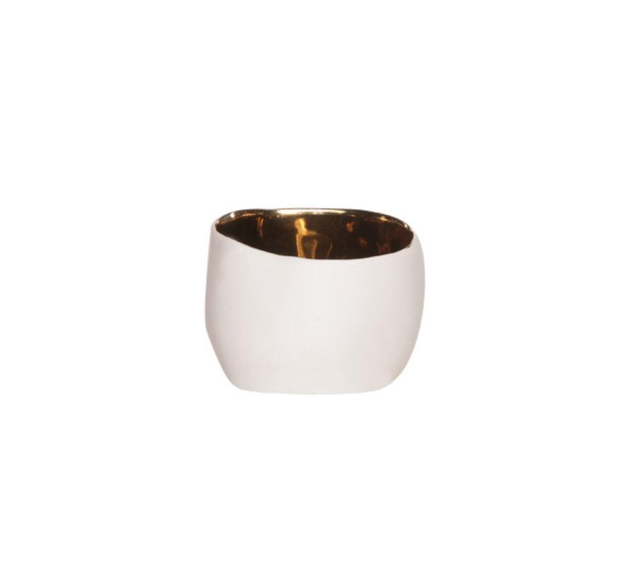 Cosy & Trendy Bao gold aperopotje d6,5xh5,2cm, 4 maal 1 stuk