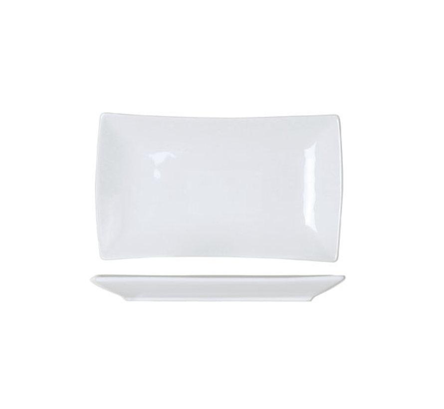 Cosy & Trendy Avantgarde aperoschaal 11,5x19,5xh2cm nb, 6 maal 1 stuk