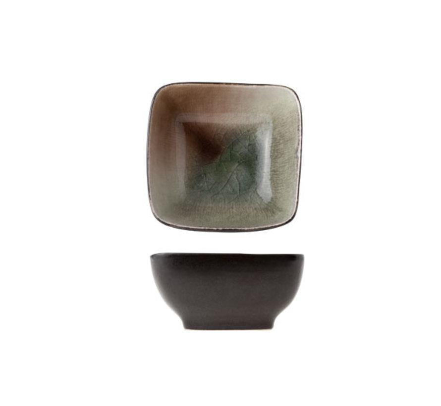 Cosy & Trendy Spuntino mini-aperoschaaltje 8x8xh3,8cm, 6 maal 1 stuk