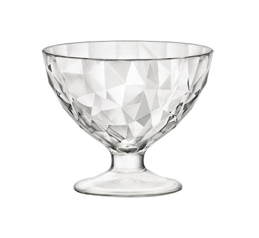 Bormioli Rocco Diamond ijscoupe 36 cl, 6 maal 1 stuk