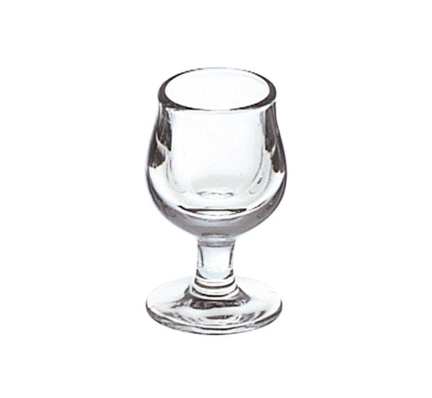 La Rochere Deguster glas 3 cl, 6 maal 1 stuk
