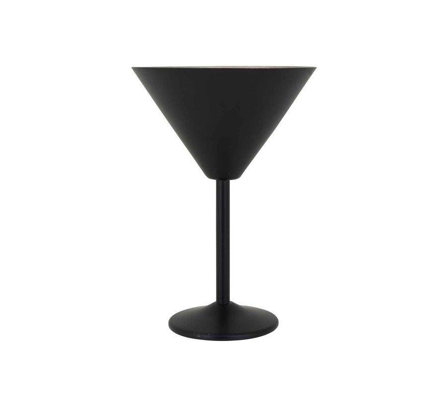 Cosy & Trendy Black martiniglas 35cl d12,5xh18cm, 6 maal 1 stuk