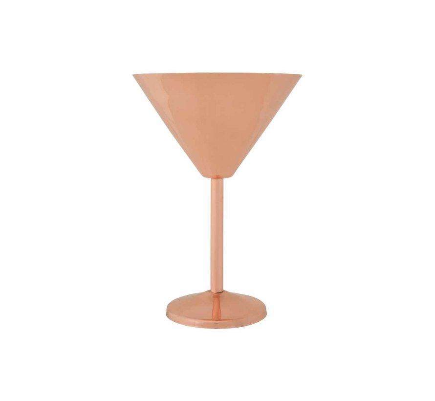 Cosy & Trendy Copper martiniglas 35cl d12,5xh18cm, 6 maal 1 stuk
