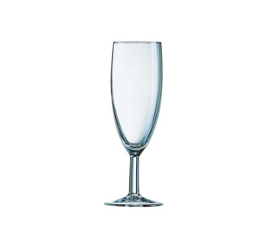 Arcoroc Ballon champagneglas 17cl, 12 stuks