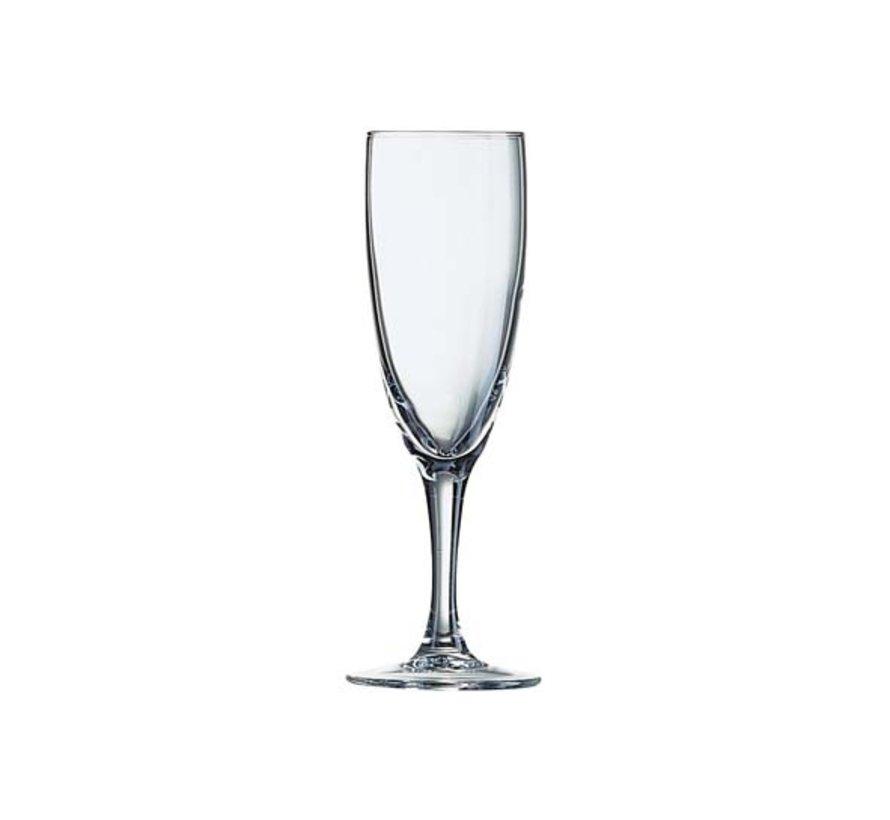 Arcoroc Elegance champagneglas 10cl, 12 stuks