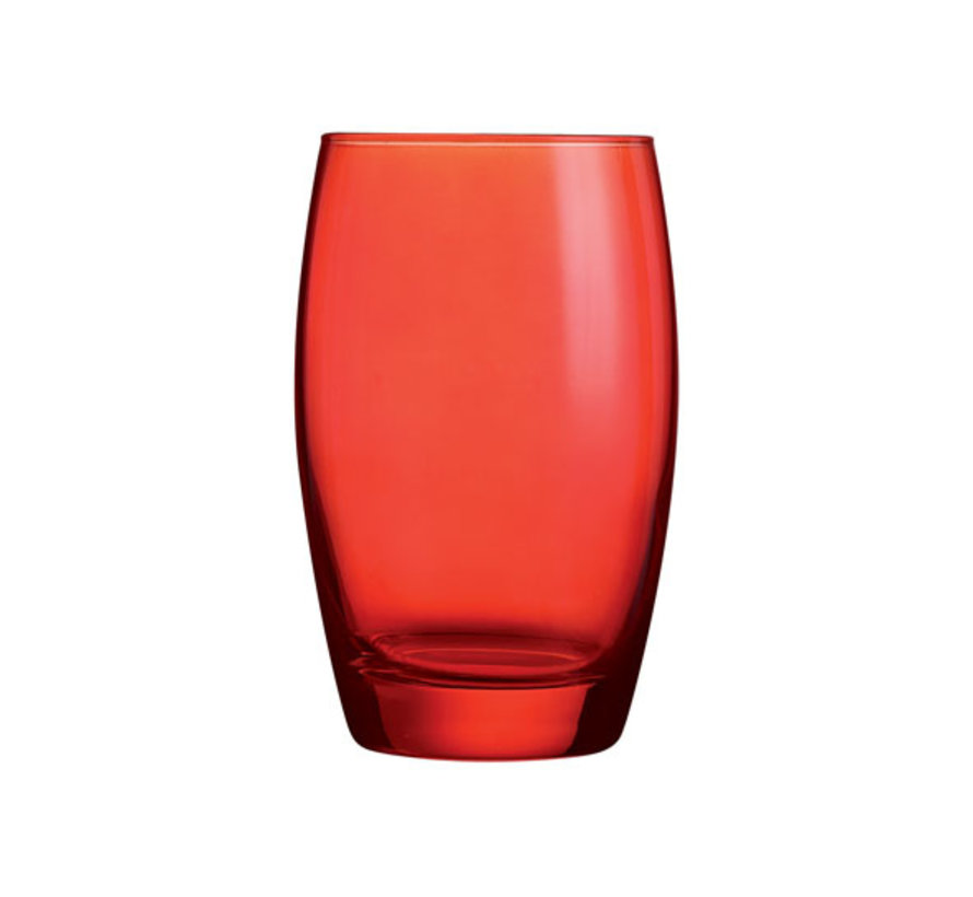 Arcoroc Color studio salto fh 35 rood, 6 stuks
