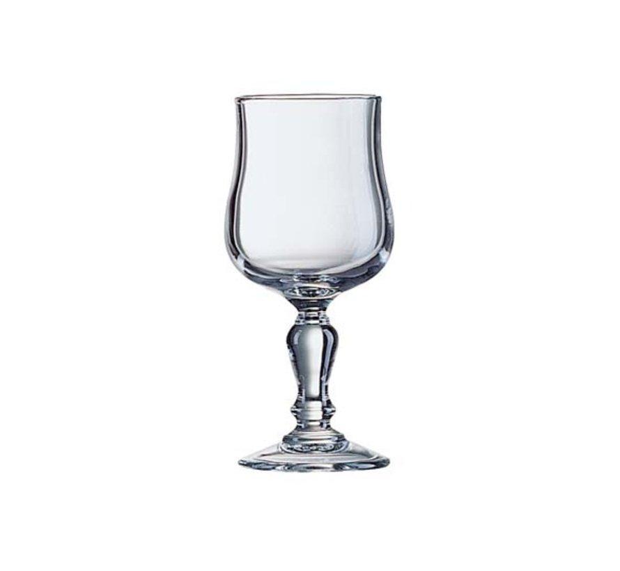 Arcoroc Normandie wijnglas 16,5cl, 12 stuks