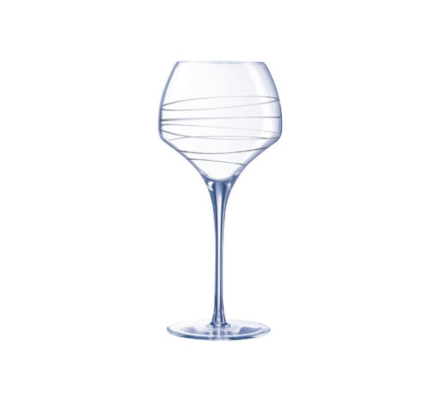 Chef & Sommelier Open up arabesque wijnglas 55cl tannic, 4 maal 1 stuk
