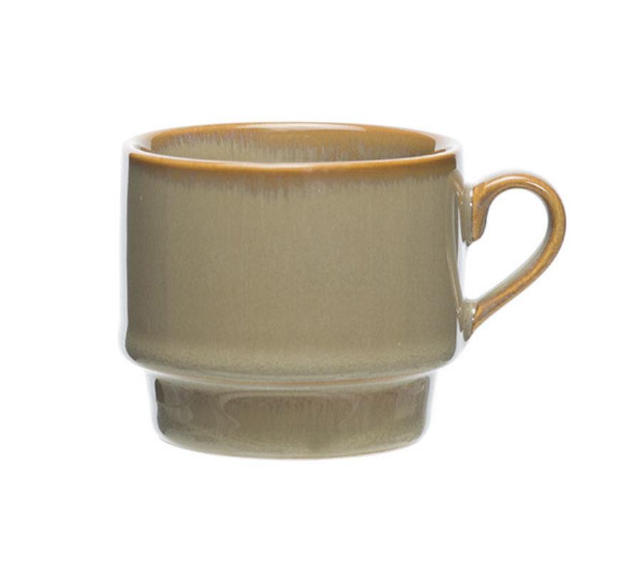 Cosy & Trendy Limerick espressokop 6,5x5,7cm - 12cl, 12 maal 1 stuk