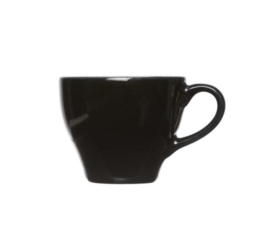 Cosy & Trendy Barista zwart kop 8x6,5cm - 15cl, 12 maal 1 stuk