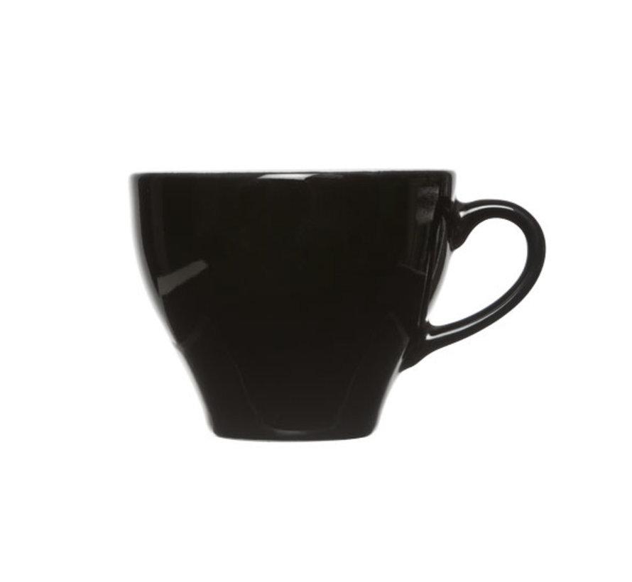 Cosy & Trendy Barista zwart kop 8,7x7cm - 20cl, 12 maal 1 stuk