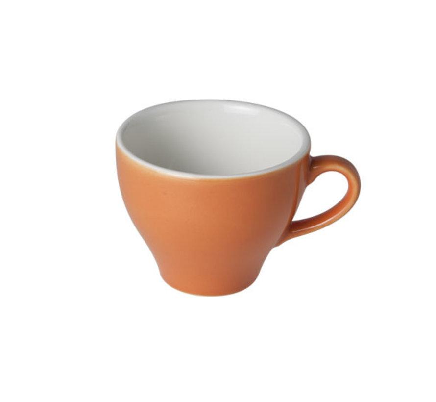Cosy & Trendy Barista oranje kop 8,7x7cm - 20cl, 12 maal 1 stuk