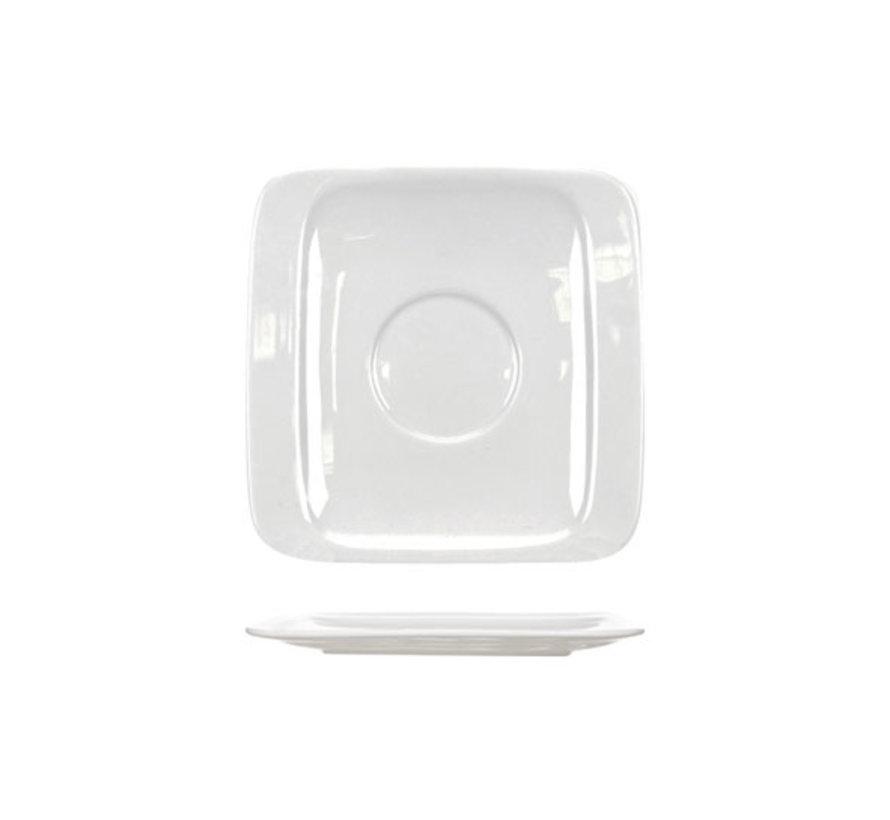 Cosy & Trendy Orinoco schotel 11,5x11,5cm vierkantig, 12 maal 1 stuk