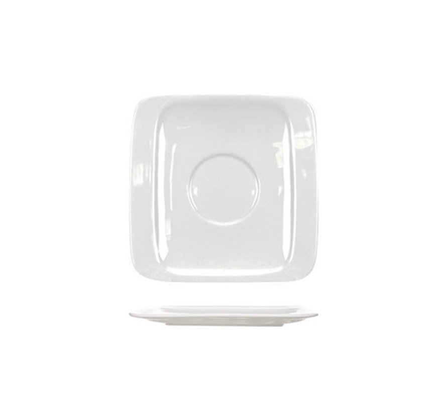 Cosy & Trendy Orinoco schotel 13,5x13,5cm vierkantig, 6 maal 1 stuk