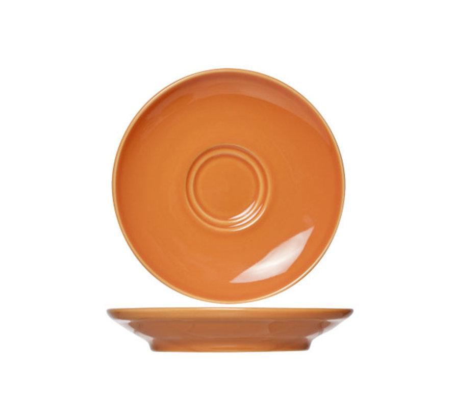 Cosy & Trendy Barista oranje schotel 16cm, 12 maal 1 stuk