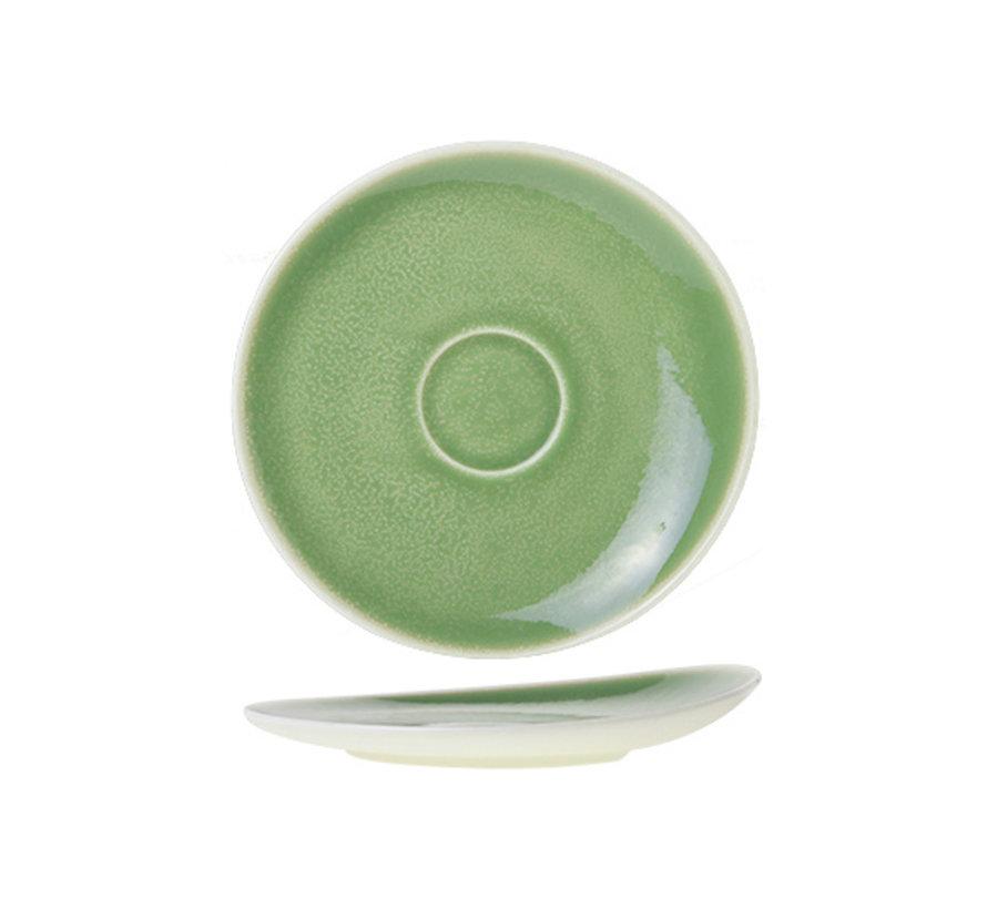 Cosy & Trendy Chrome groene schotel 16cm, 12 maal 1 stuk