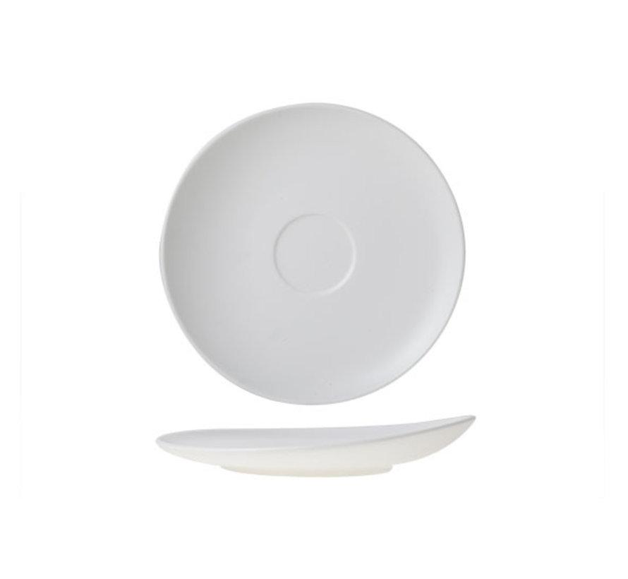 Cosy & Trendy Mat witte schotel 16cm, 12 maal 1 stuk