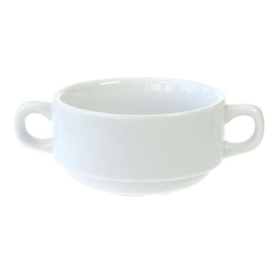 Cosy & Trendy Everyday witte soepkop 10,5x5,5cm, 6 maal 1 stuk