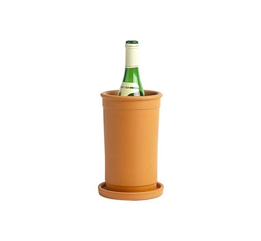 Cosy & Trendy Wijnkoeler terracotta, 6 maal 1 stuk