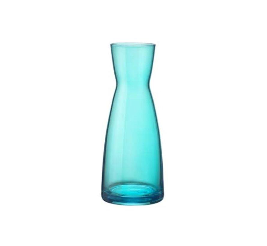 Bormioli Rocco Ypsilon karaf blauw spray 0,5l, 6 maal 1 stuk