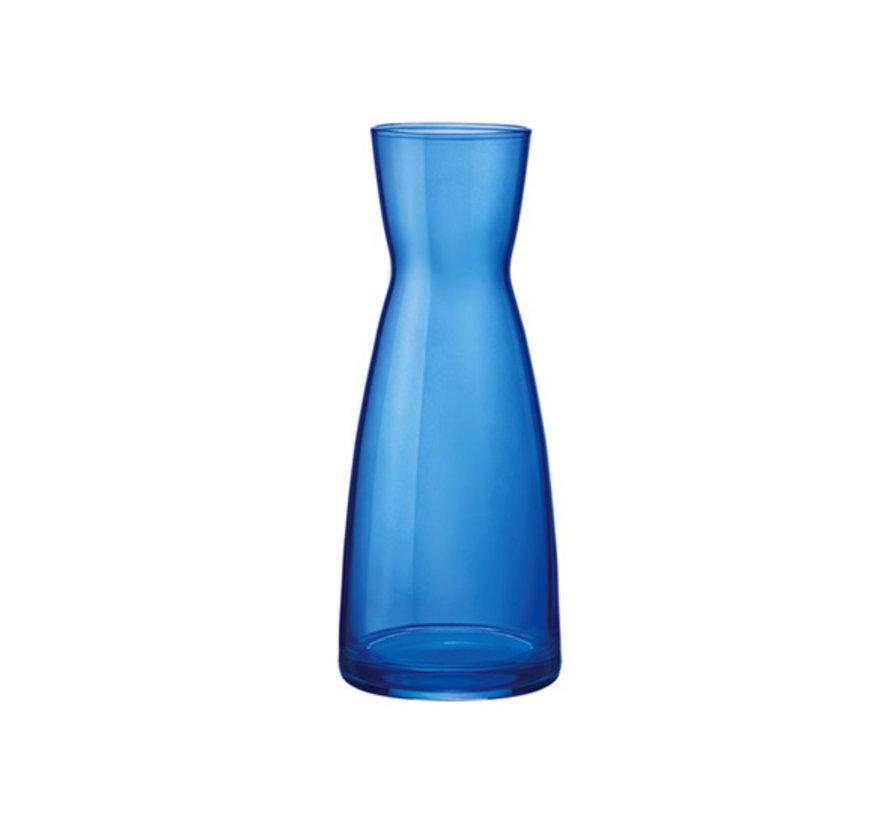Bormioli Rocco Ypsilon karaf donkerblauw spray 0,5l, 6 maal 1 stuk