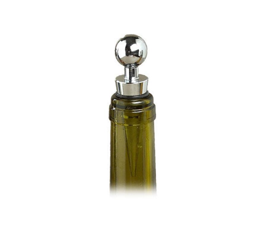 Cosy & Trendy Flessenstop wijn design inox ss, 12 maal 1 stuk