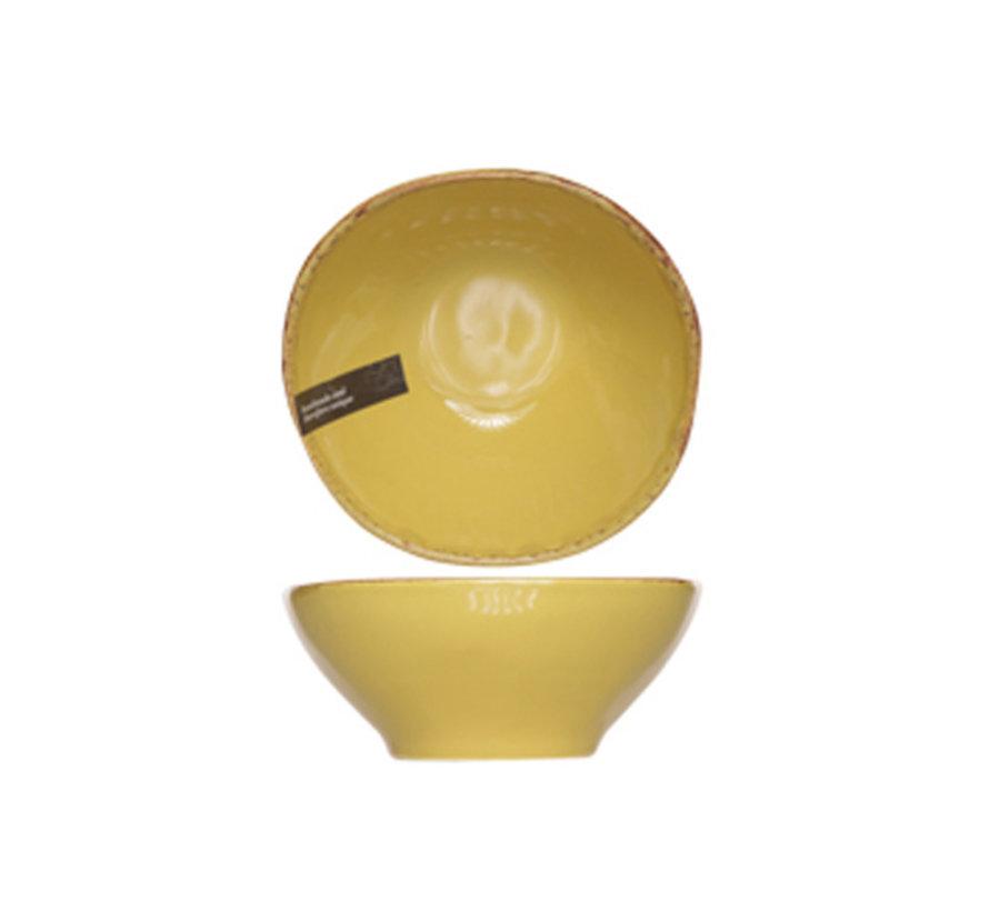 Cosy & Trendy Organic line olijfgroen bowl 15,5cm, 6 maal 1 stuk